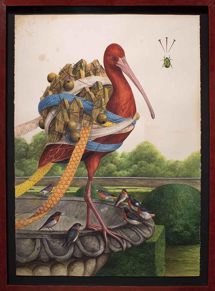 The Red Sorcerer by El Gato Chimney