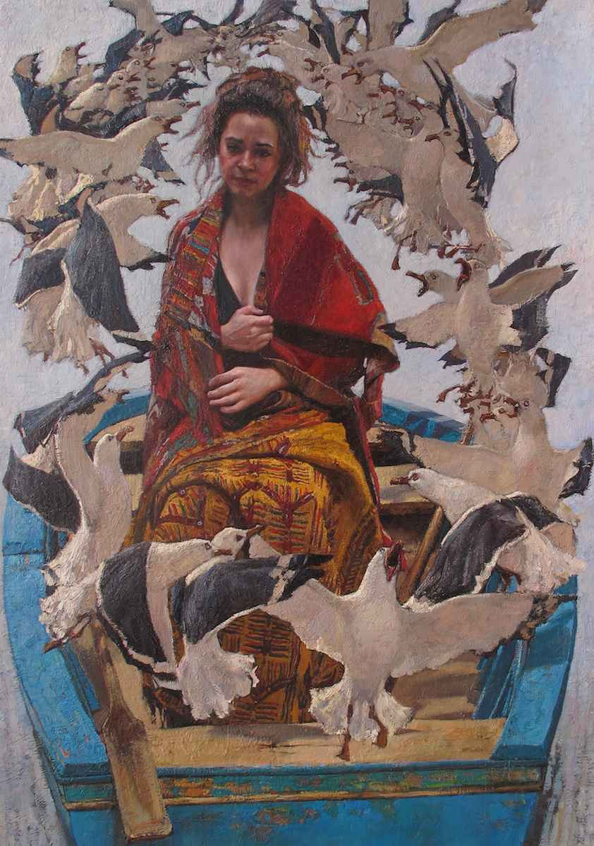 Gossip by  Daud Akhriev - Masterpiece Online
