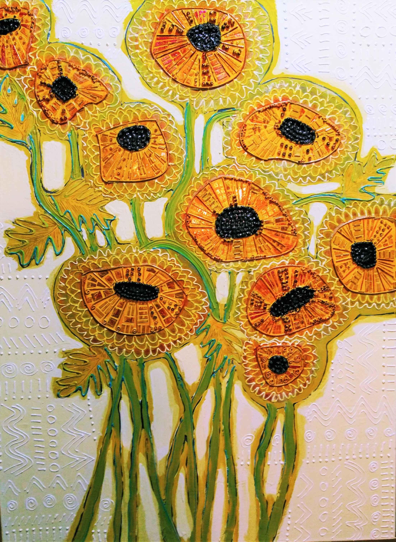 Marigolds #1 by  Thomas Kulich - Masterpiece Online