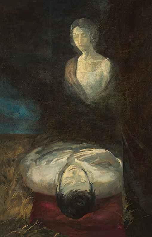 Dying Andrey  by  Igor Karash Prints