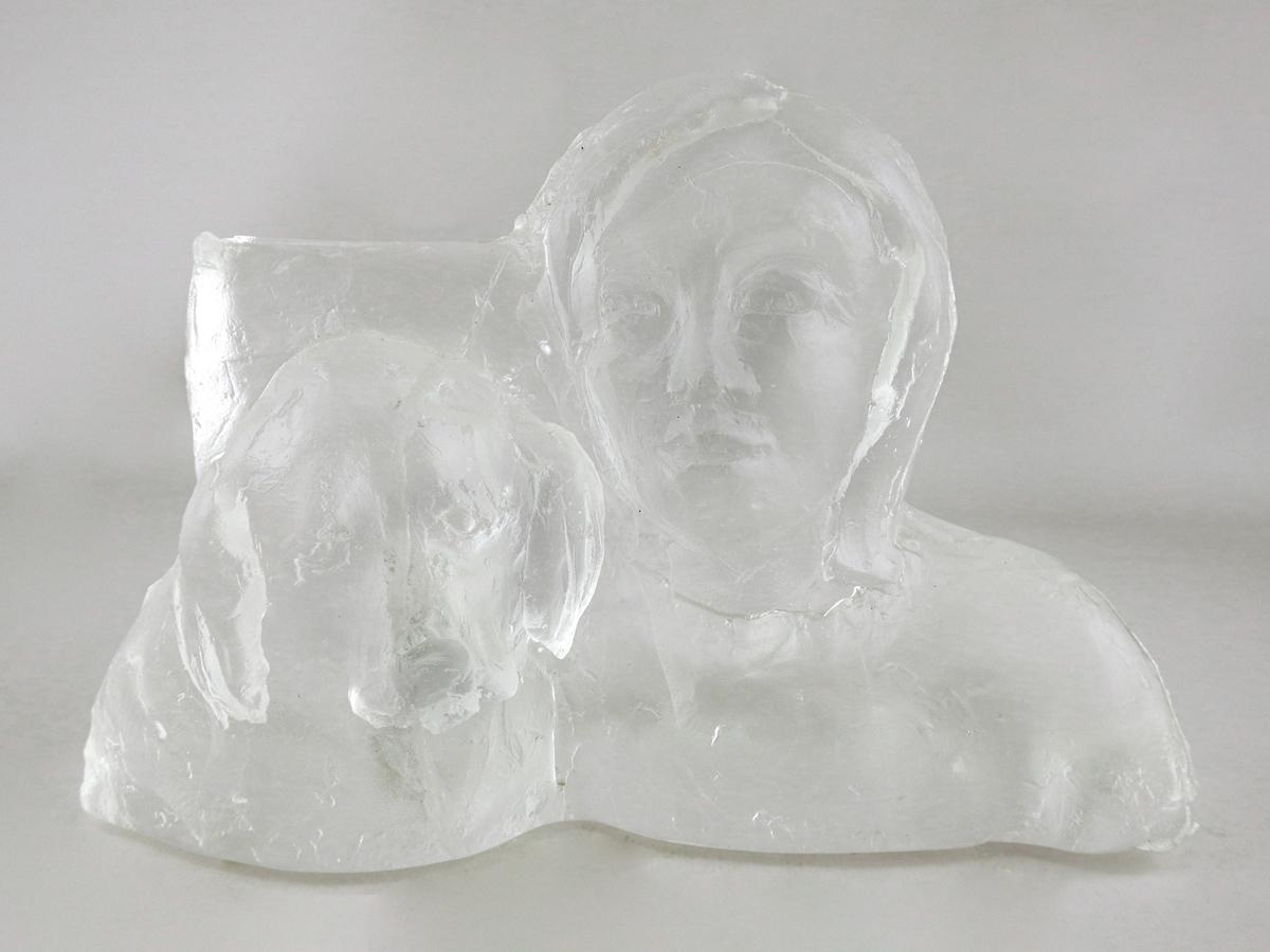Woman & Dog by  William & Kate Bernstein - Masterpiece Online