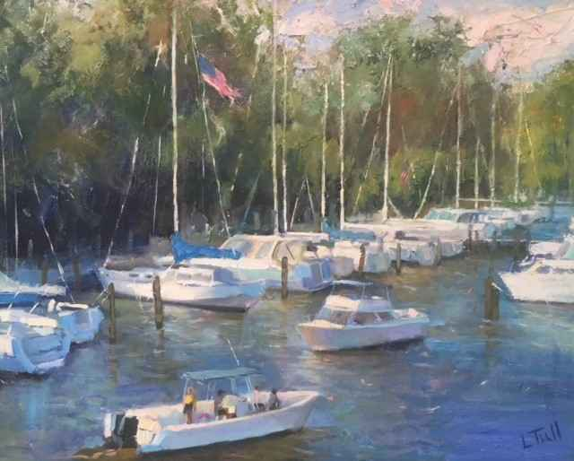 South Haven Harbor by Lindsey Tull - Greenwich House Gallery