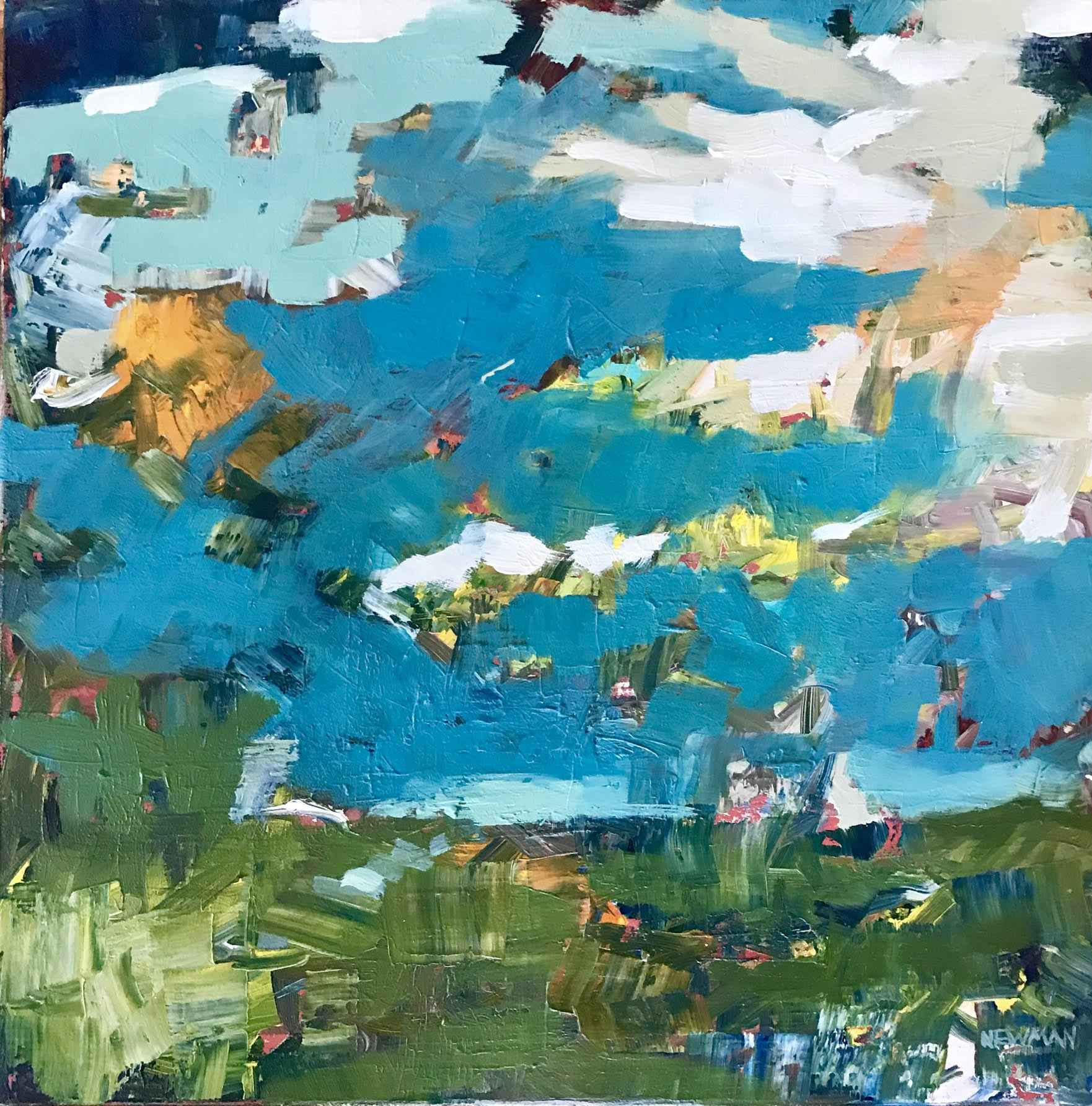The Sky Has No Limits by  Marlise Newman - Masterpiece Online