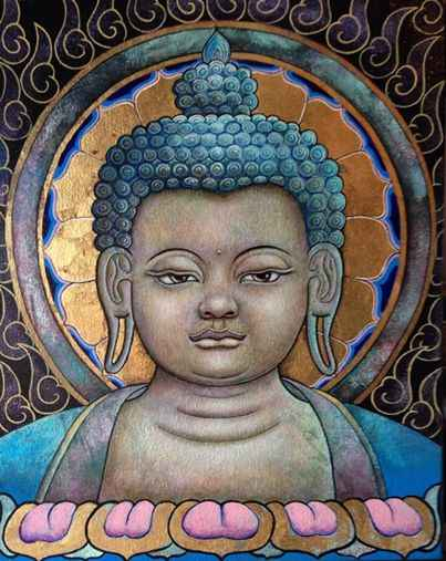 Illumination (Buddha) by  Matthew Smith - Masterpiece Online