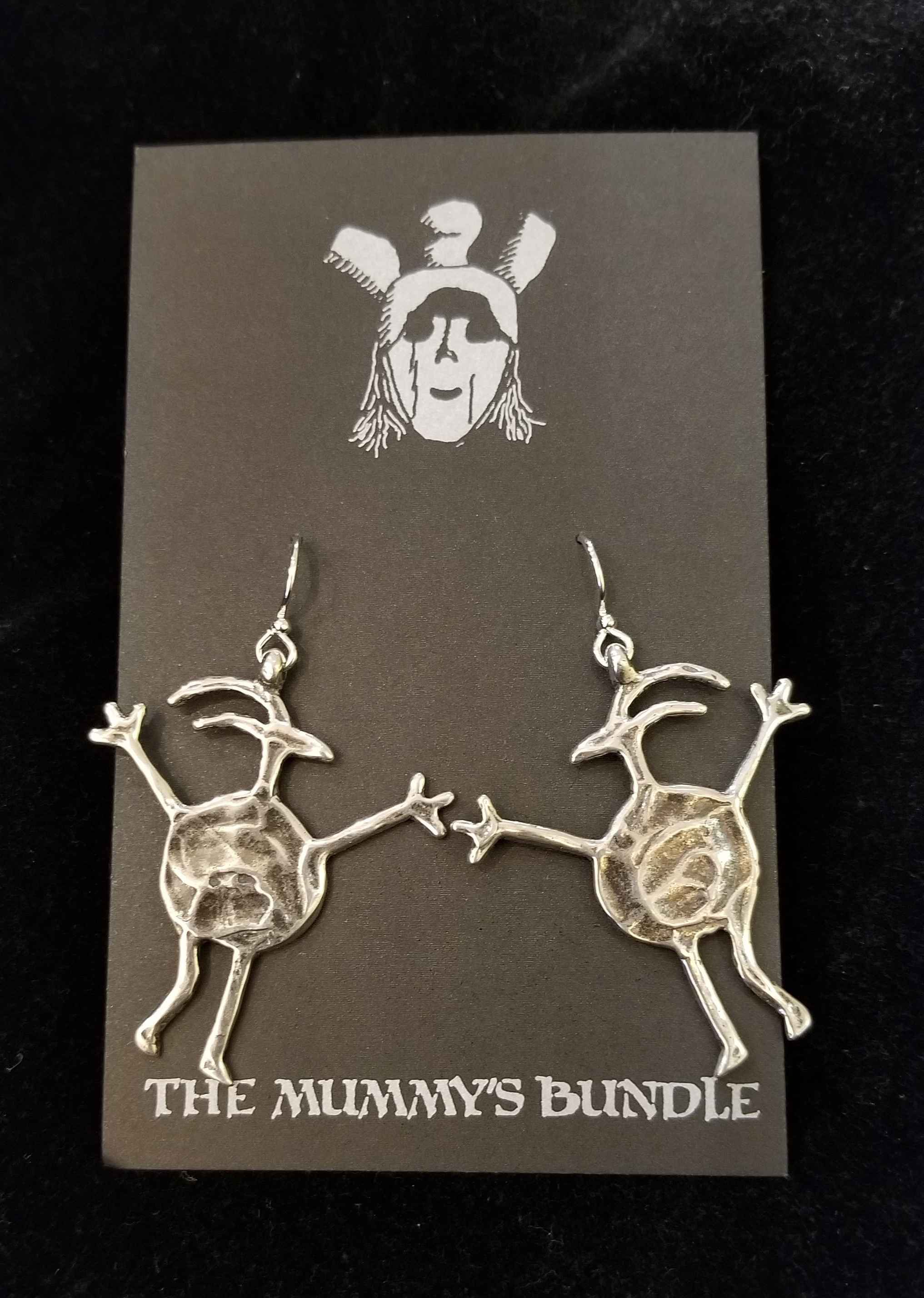 Sheepman Silver Earri... by  Mummy's Bundle - Masterpiece Online