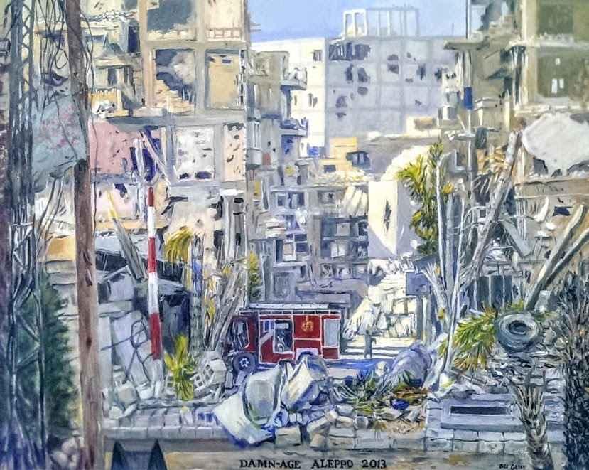 Damn-age, Aleppo 2013 by Mr. Bill Gillit - Masterpiece Online