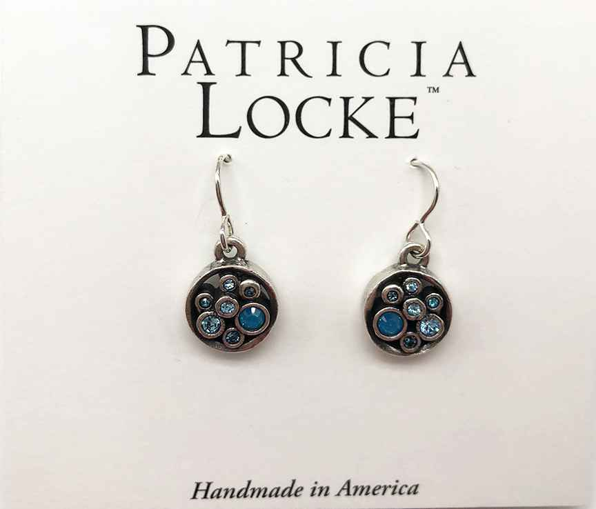 Bubble Tea Earrings in Silver, Bermuda