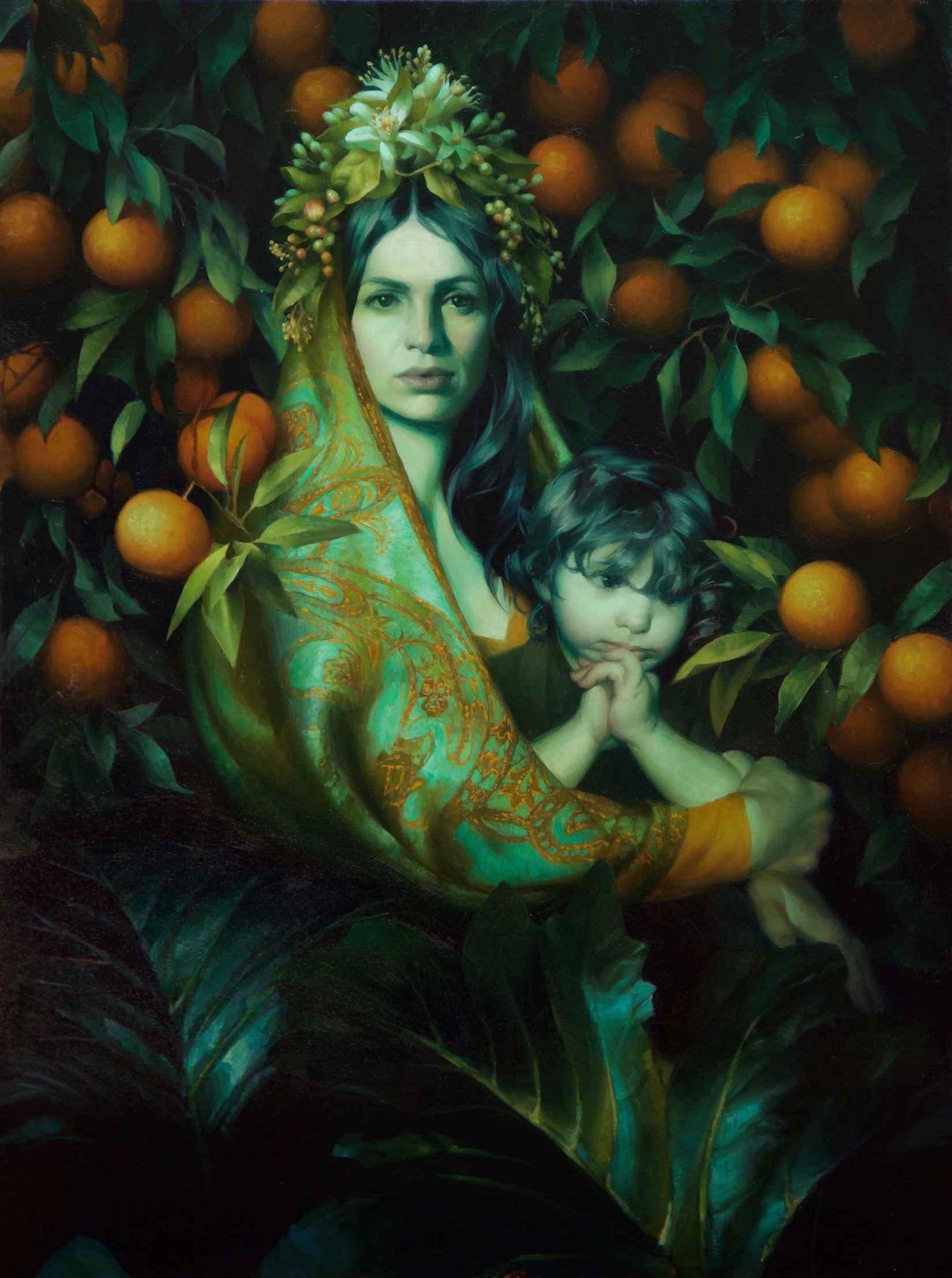 Orange Blossom Madonna by  Adrienne Stein - Masterpiece Online