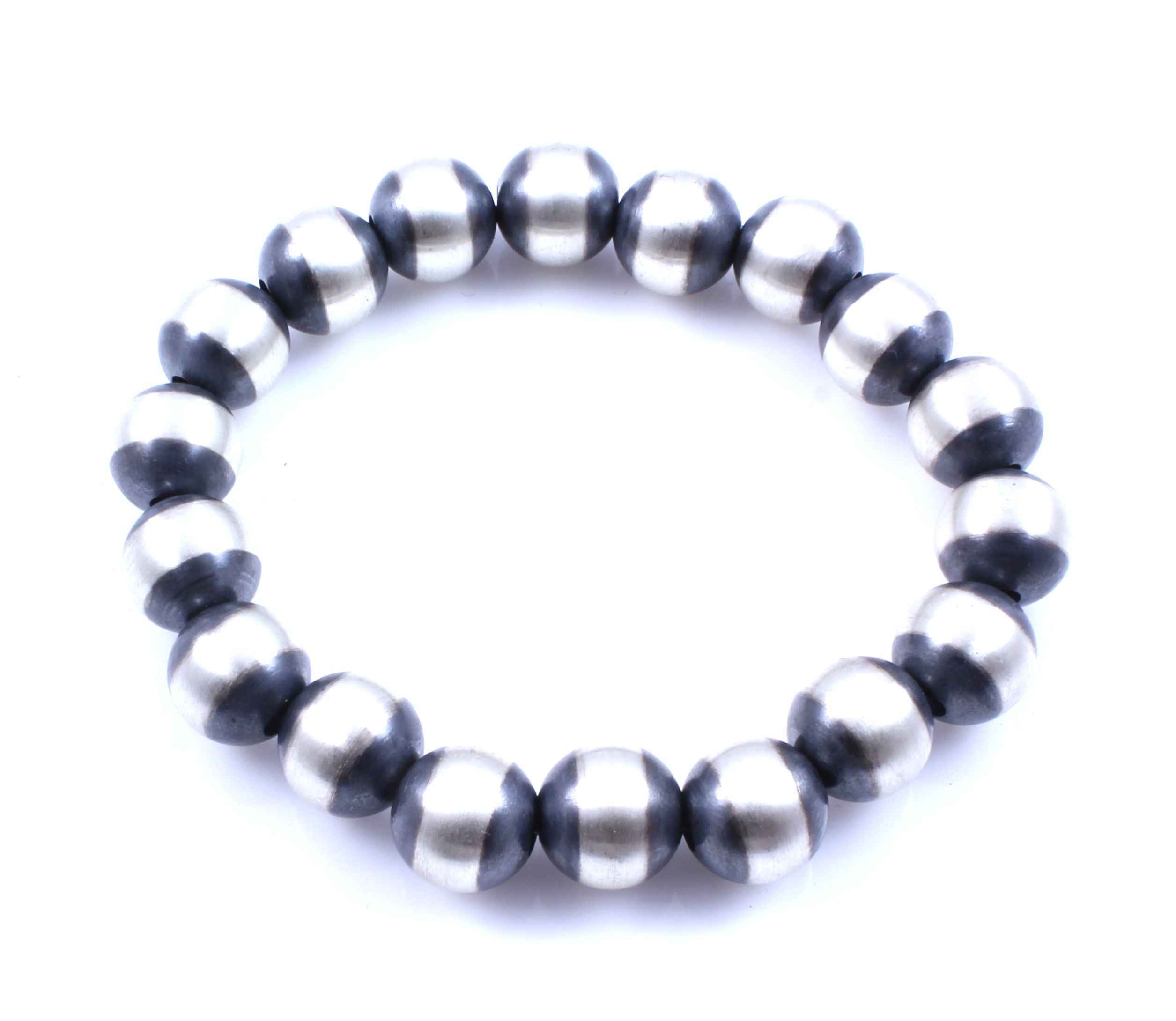 bead premium skull hematite products crystal swarovski bracelet stretch beads