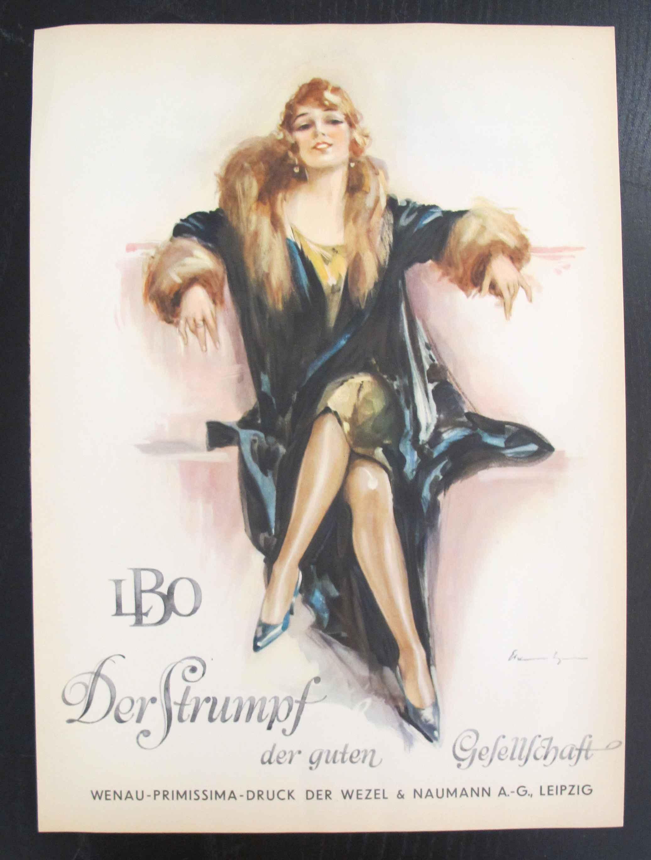 LBO Derstrumpf Orig... by  Ludwig Hohlwein - Masterpiece Online