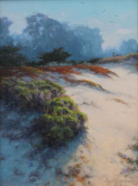 Across the Dunes by  Sally  Jordan - Masterpiece Online