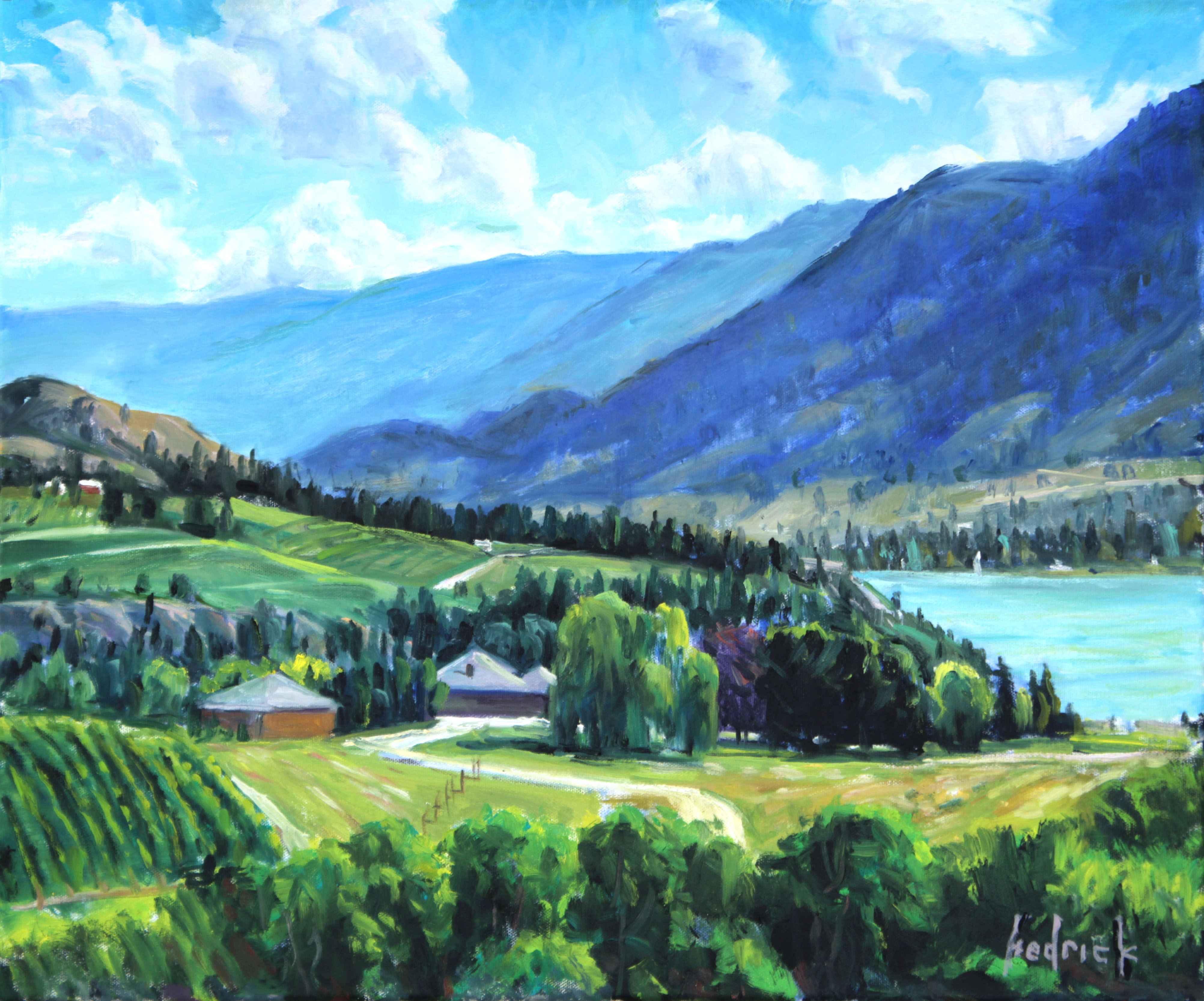 Naramata Vista  by  Ron Hedrick