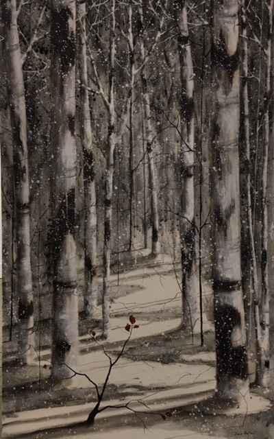 Walk Among the Birches by  Doris Pontieri - Masterpiece Online