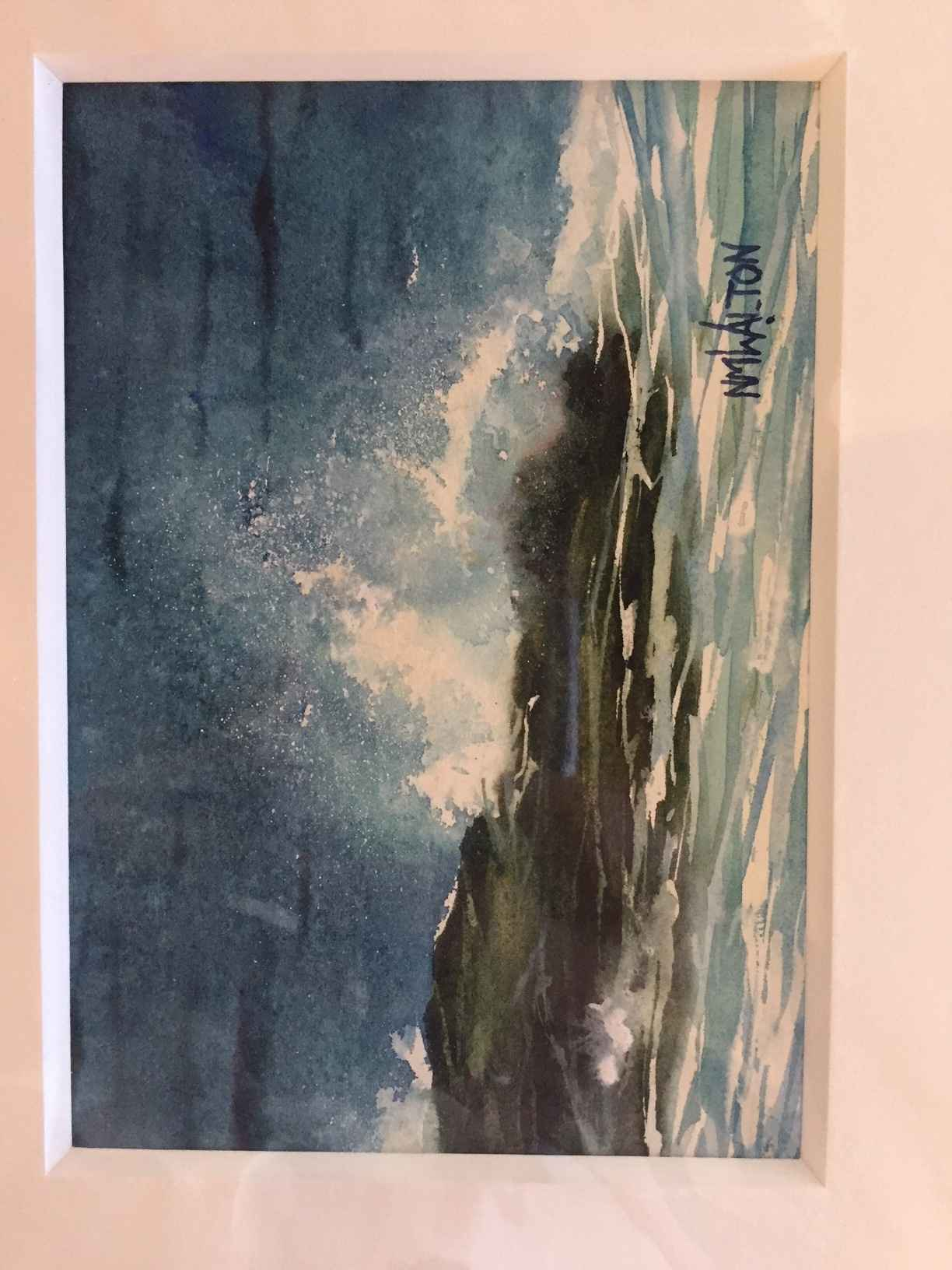 Wave Study by  Nancy Motley Walton - Masterpiece Online
