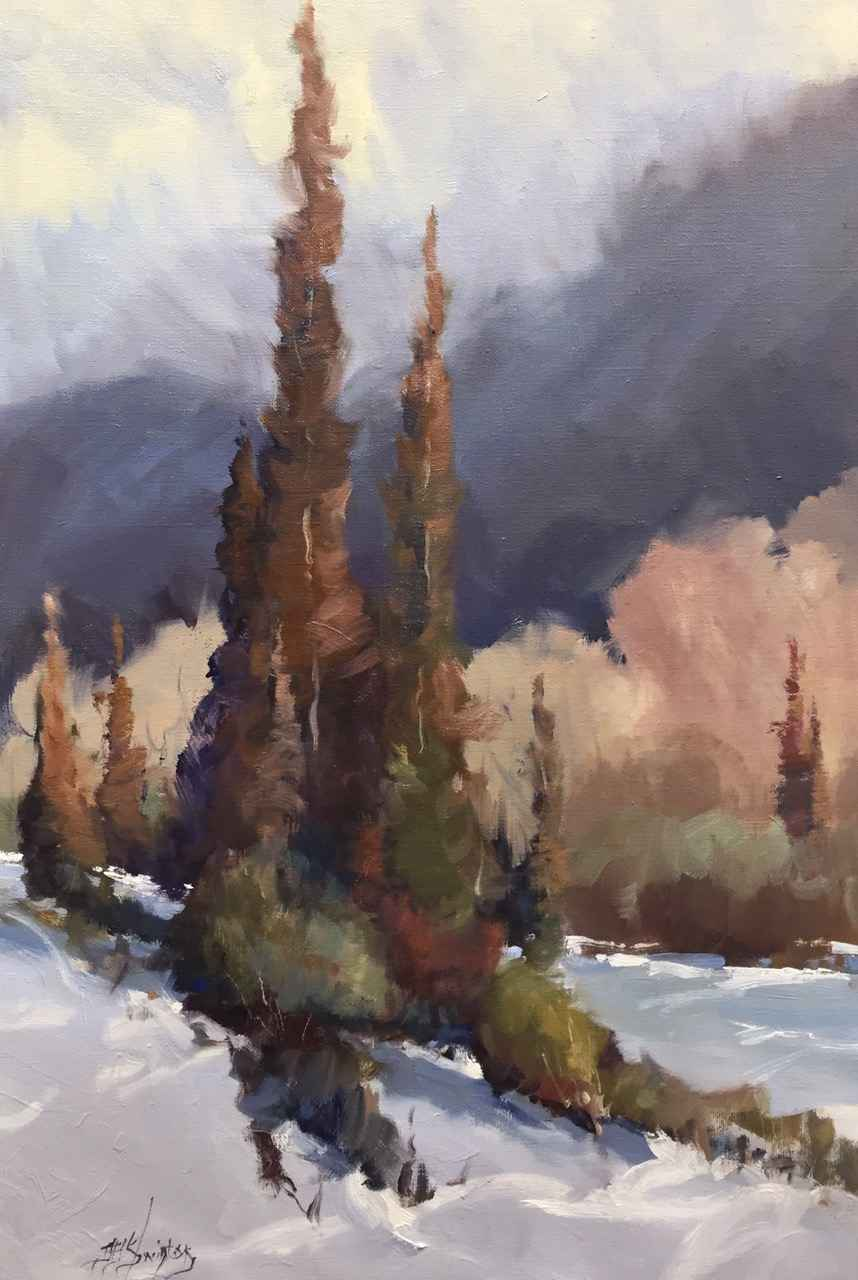 Spray Valley Trees by Mr Doug Swinton - Masterpiece Online