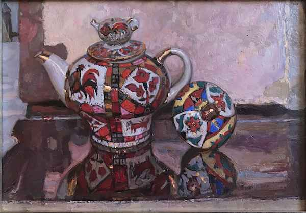 Russian Tea Party: In... by  Daud Akhriev - Masterpiece Online