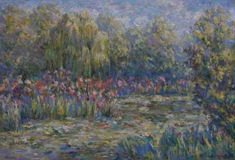 Giverny Garden by  Blanche Monet - Masterpiece Online