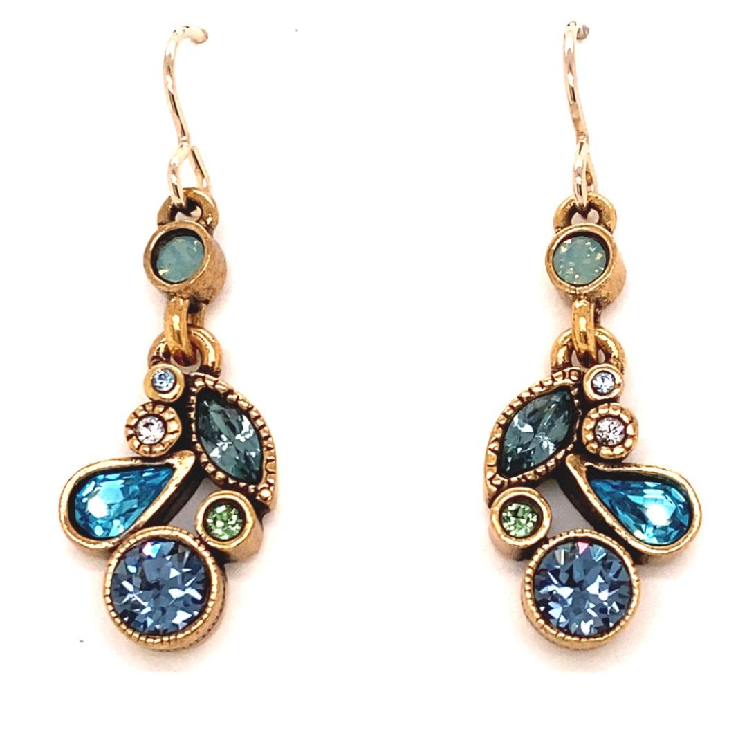 Cherish Earrings in Silver, Zephyr