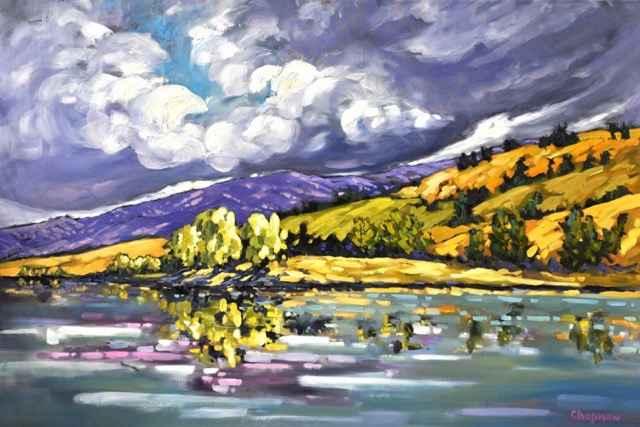 Sunshine & Storm Clou... by  Sandra Chapman - Masterpiece Online