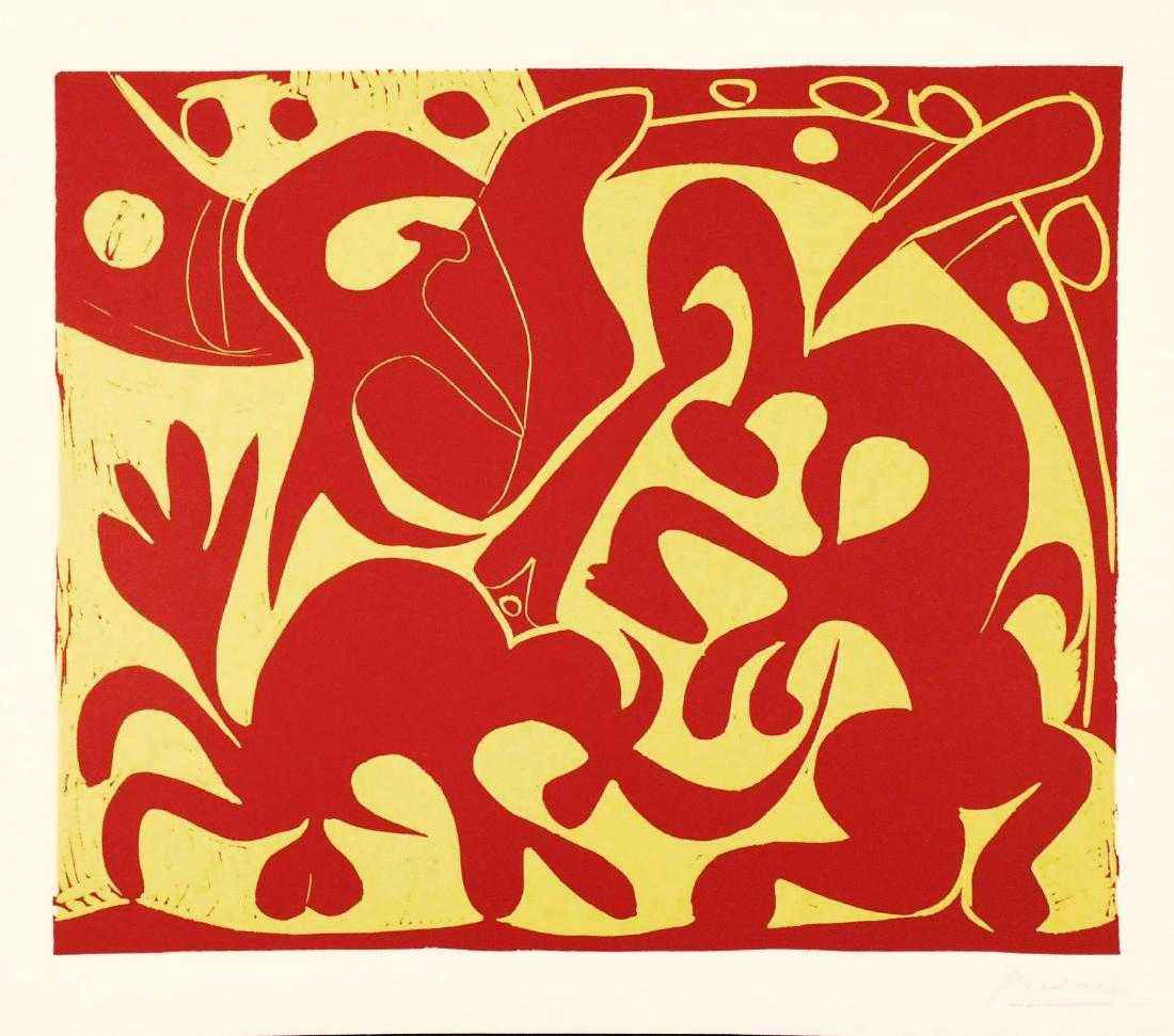 The Picador in Red an... by  Pablo Picasso - Masterpiece Online