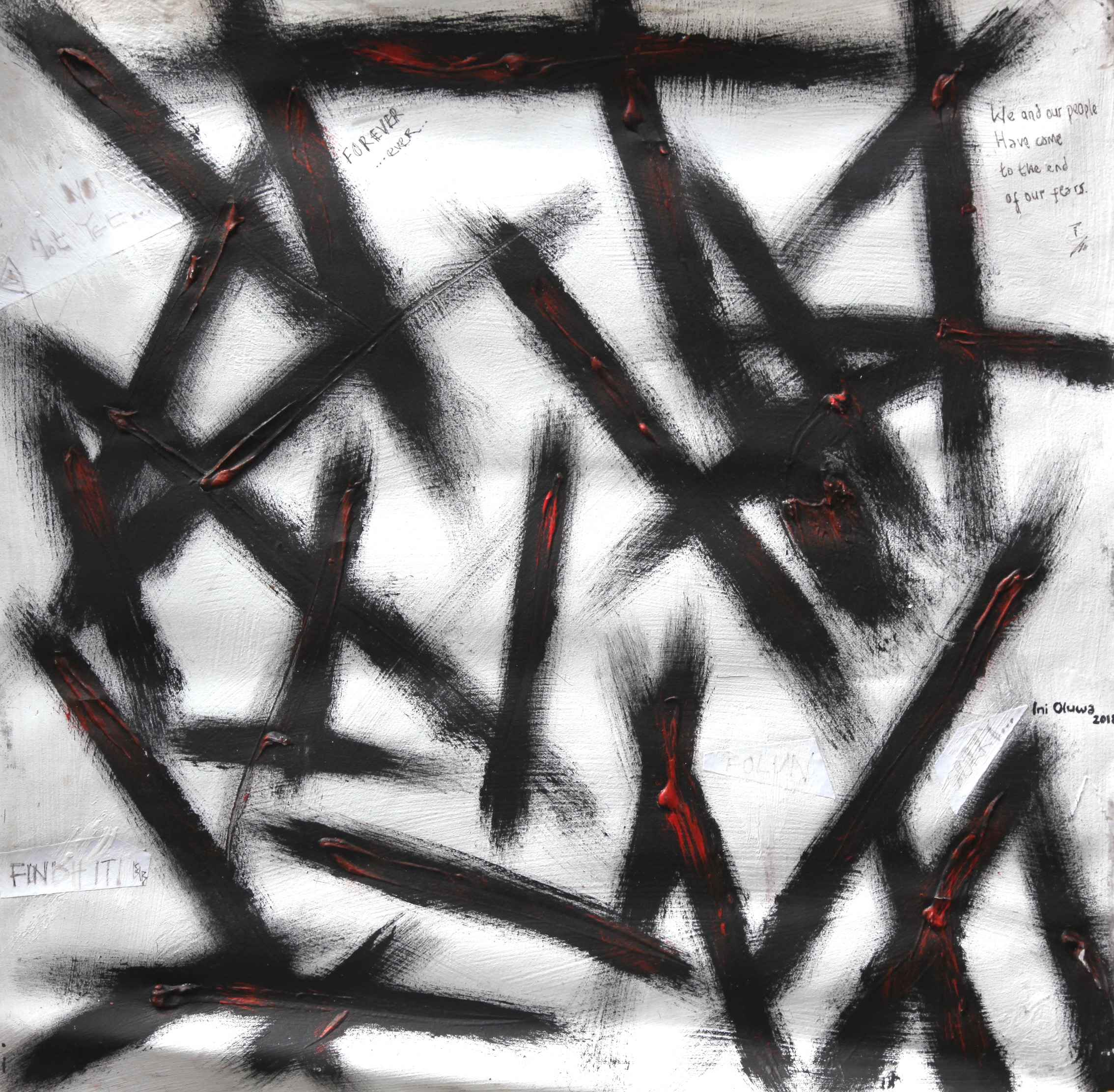 Slashes on Lashes by Mr Inioluwa Aboluwarin - Masterpiece Online