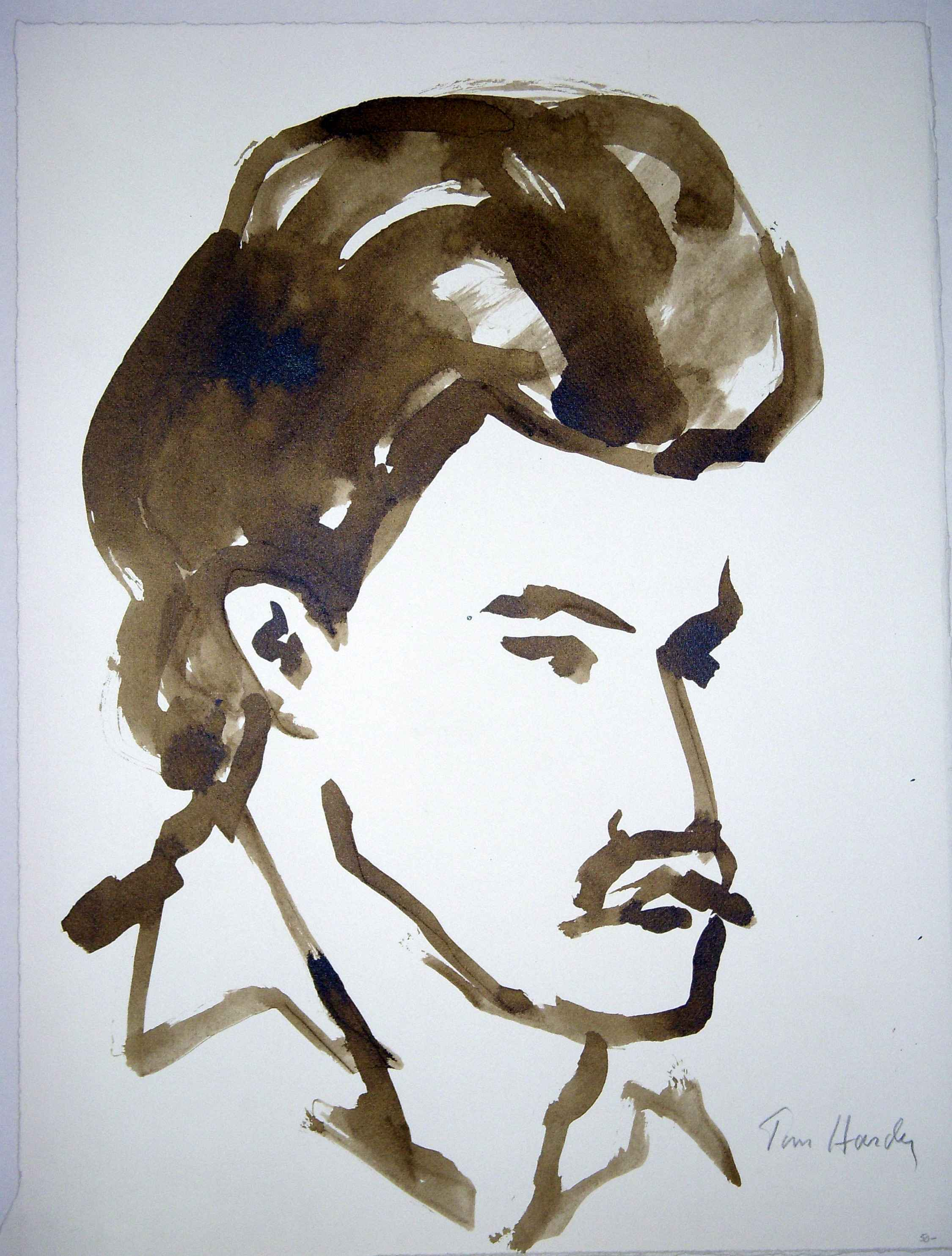 Untitled (Male Face) by  Tom Hardy - Masterpiece Online