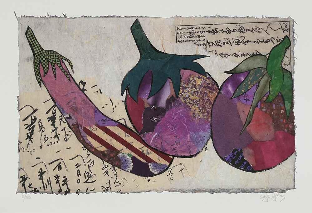 Nasu (Eggplant) by  Karyn Young - Masterpiece Online