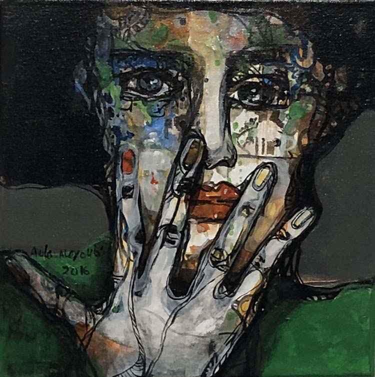 Small Portrait #1 by  Aula Alayoubi - Masterpiece Online