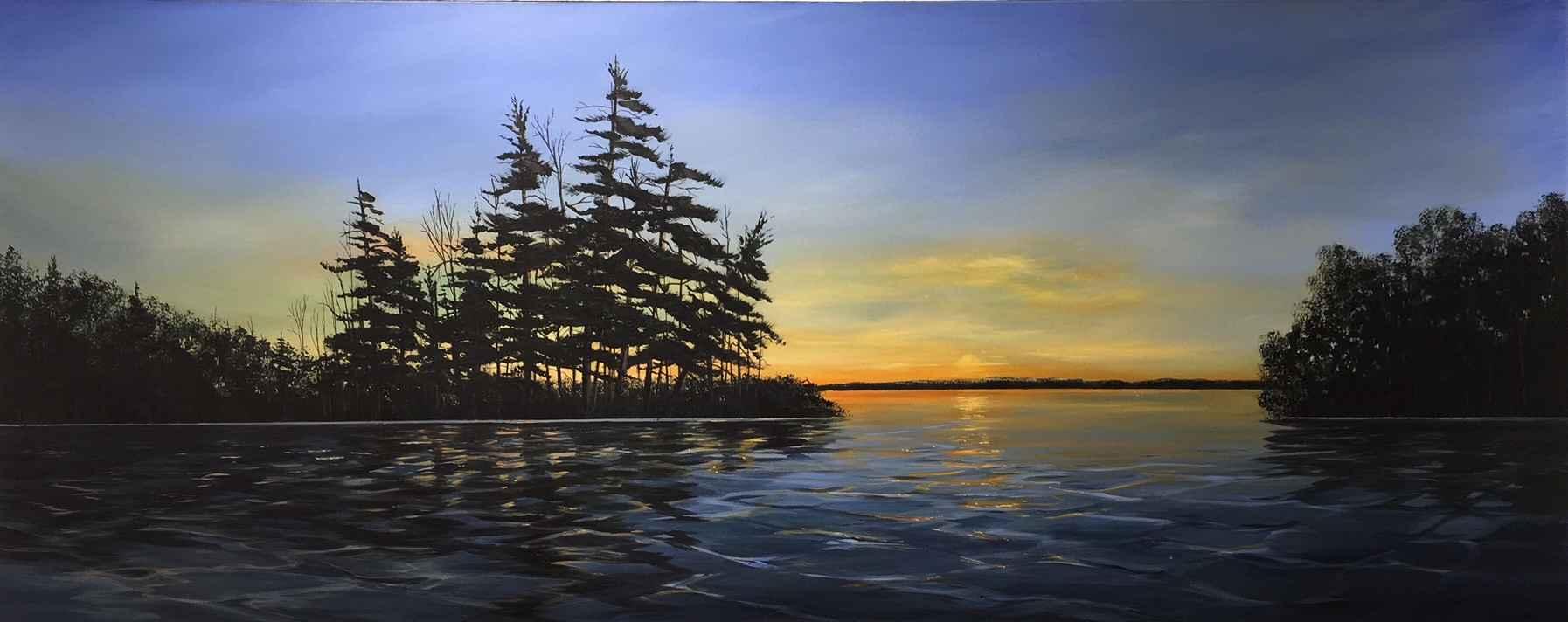 Summer Nights by  Janet Liesemer - Masterpiece Online