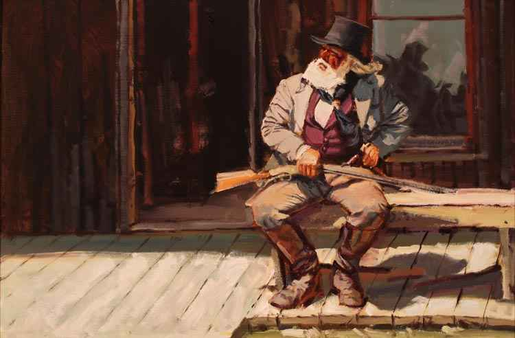 SOLD- Waiting For Tr... by  Glen Edwards - Masterpiece Online