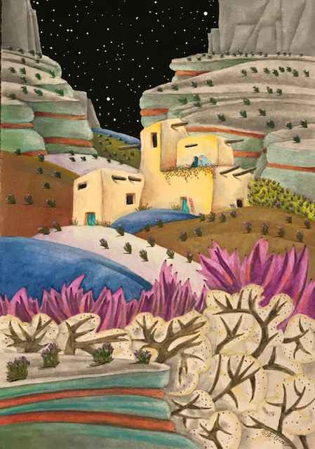 Talk of Lavender by  BJ Briner - Masterpiece Online
