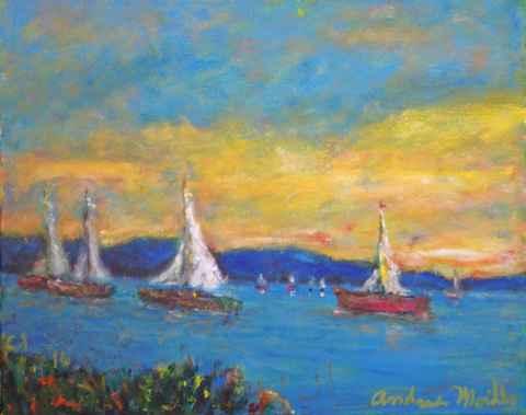 Regatta by  Andres  Morillo - Masterpiece Online