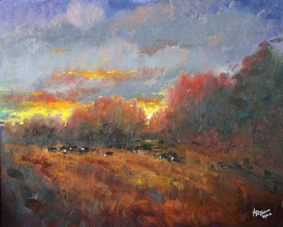 Herd At Dusk by  Neil Patterson - Masterpiece Online