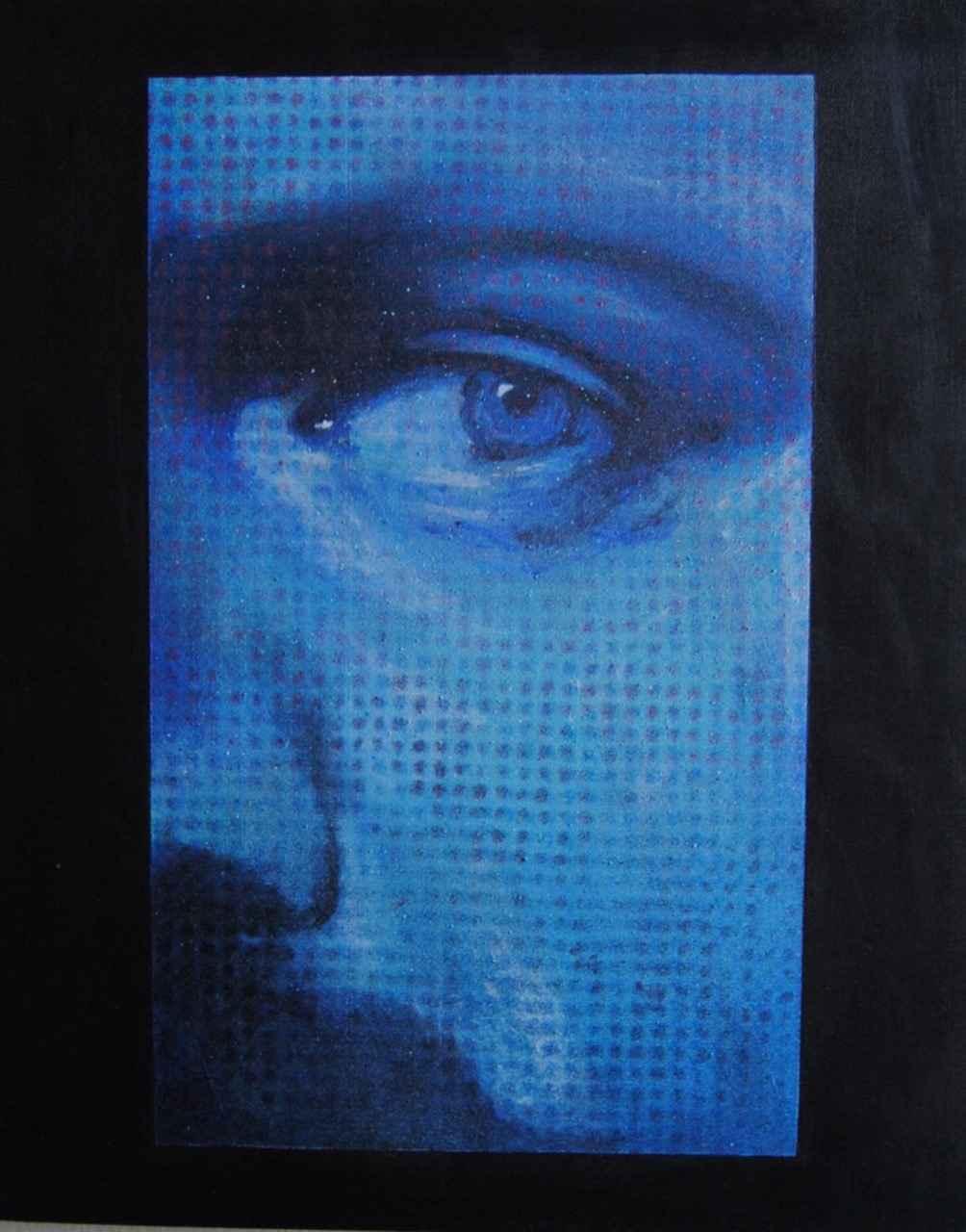 Screen Memory; blue m...  by  Lee Stewart
