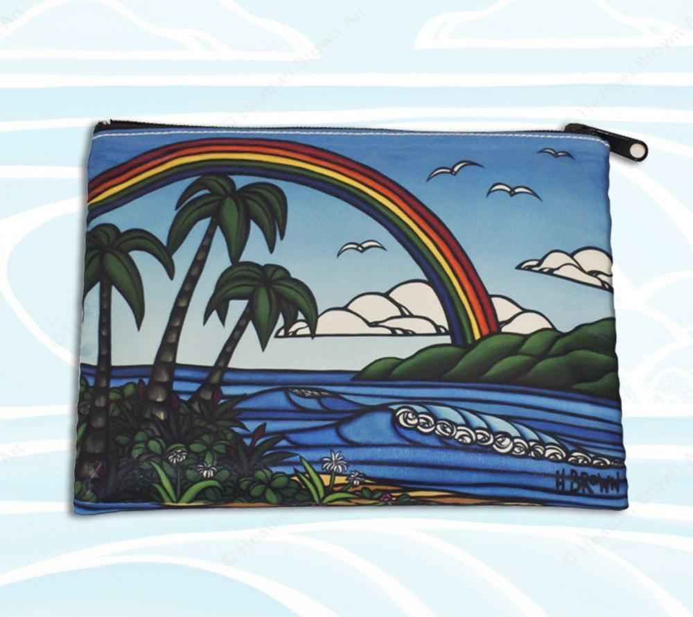 HB0100MB Beach Clutch...  by  Heather Brown