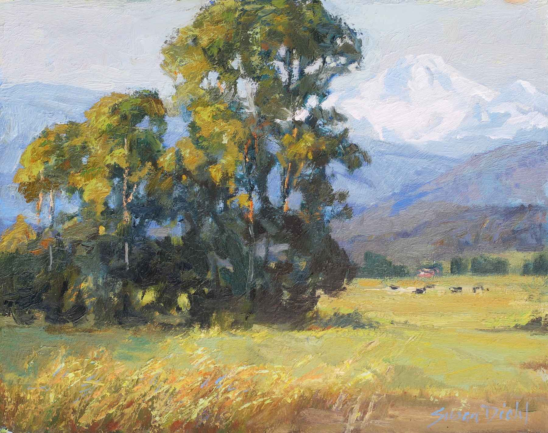A Day in the Valley by  Susan Diehl - Masterpiece Online