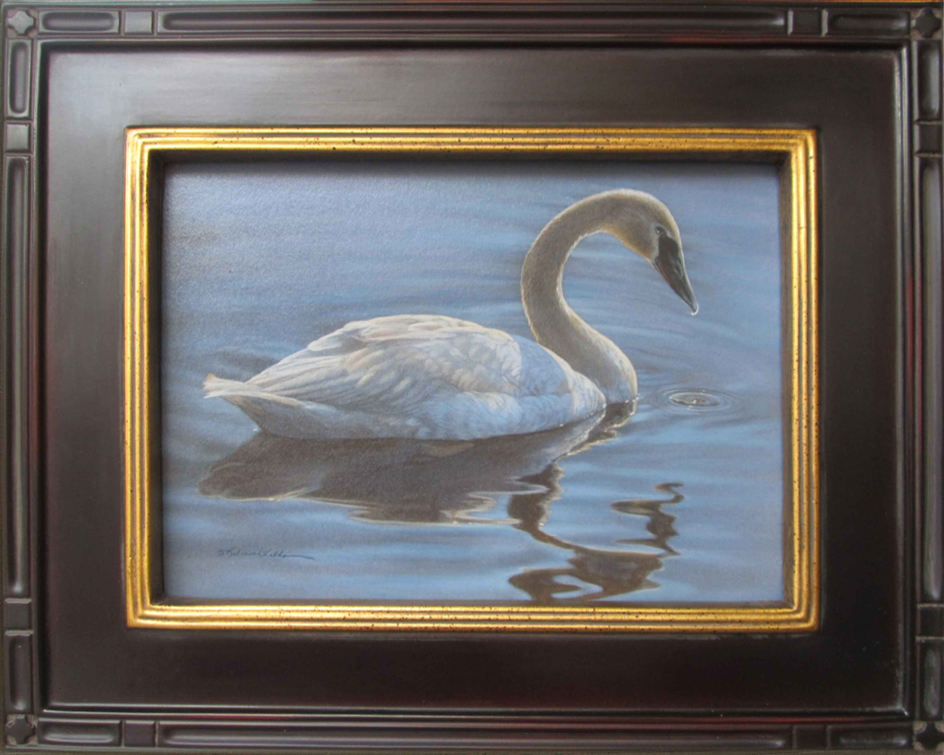 Calm In Blue by  Rebecca Latham - Masterpiece Online