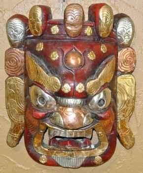 Tibetan Mahakal Mean ... by  Unknown Artist - Masterpiece Online