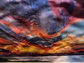 Lamberts Cove Sunset ... by  Deborah Hiatt - Masterpiece Online