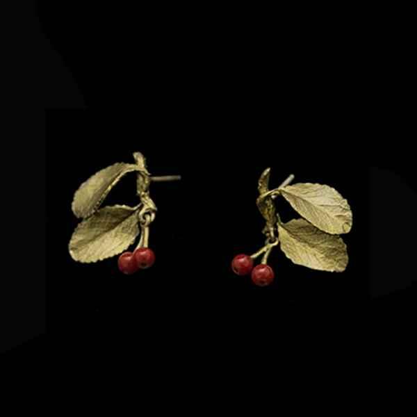 Cherry Post Earring