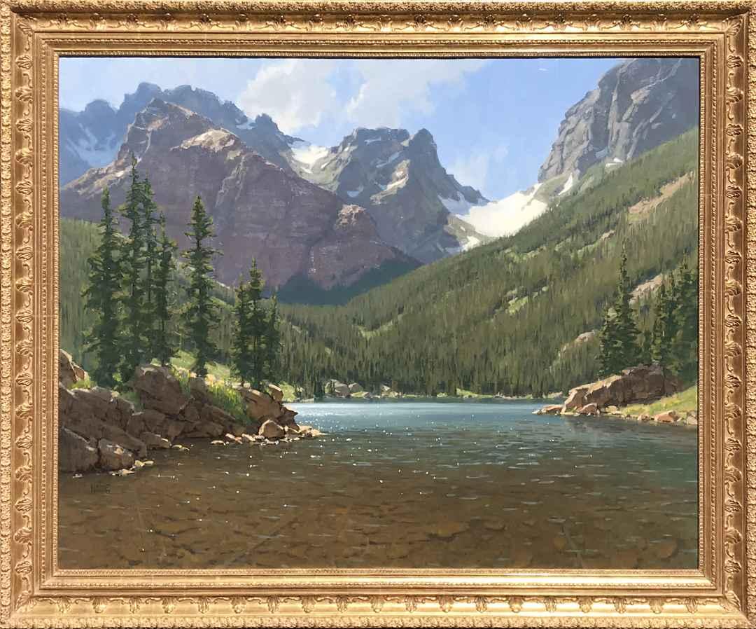 Loch Vale, Rocky Moun... by Mr. Wayne Wolfe - Masterpiece Online
