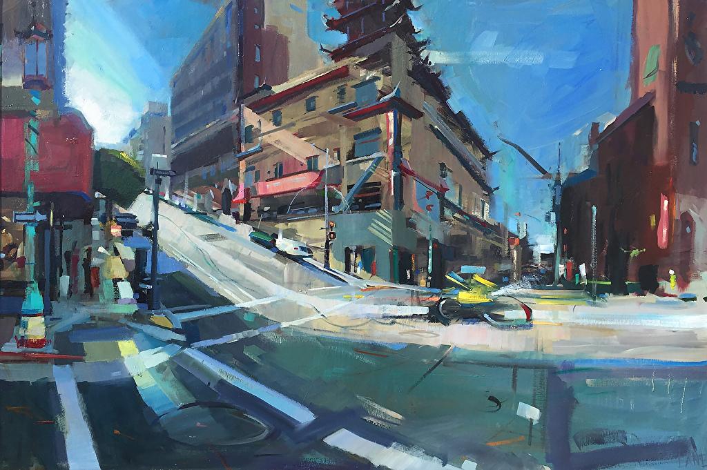 Chinatown Introspecti... by Mr. Lane Bennion - Masterpiece Online
