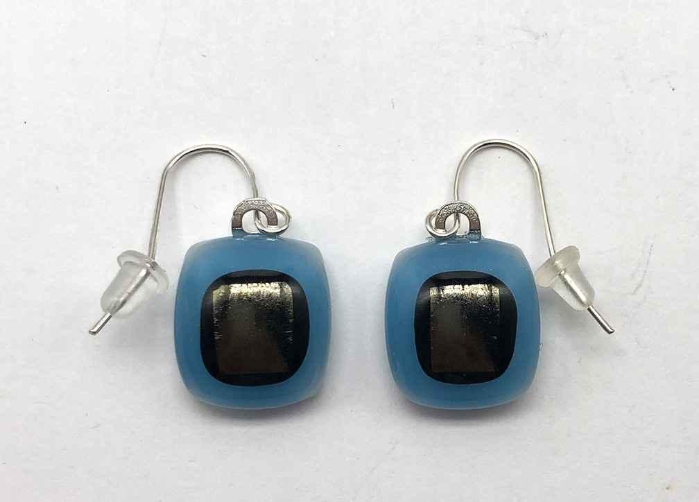 Bitty Earrings Regal/Black