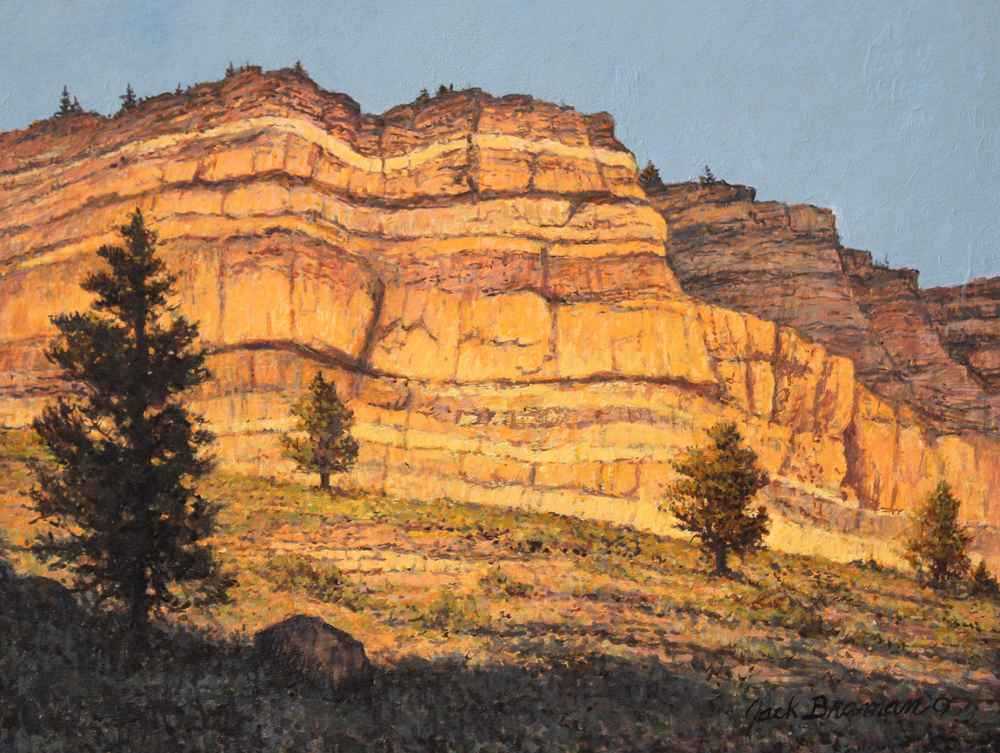 Canyon Walls  by  Jack Braman