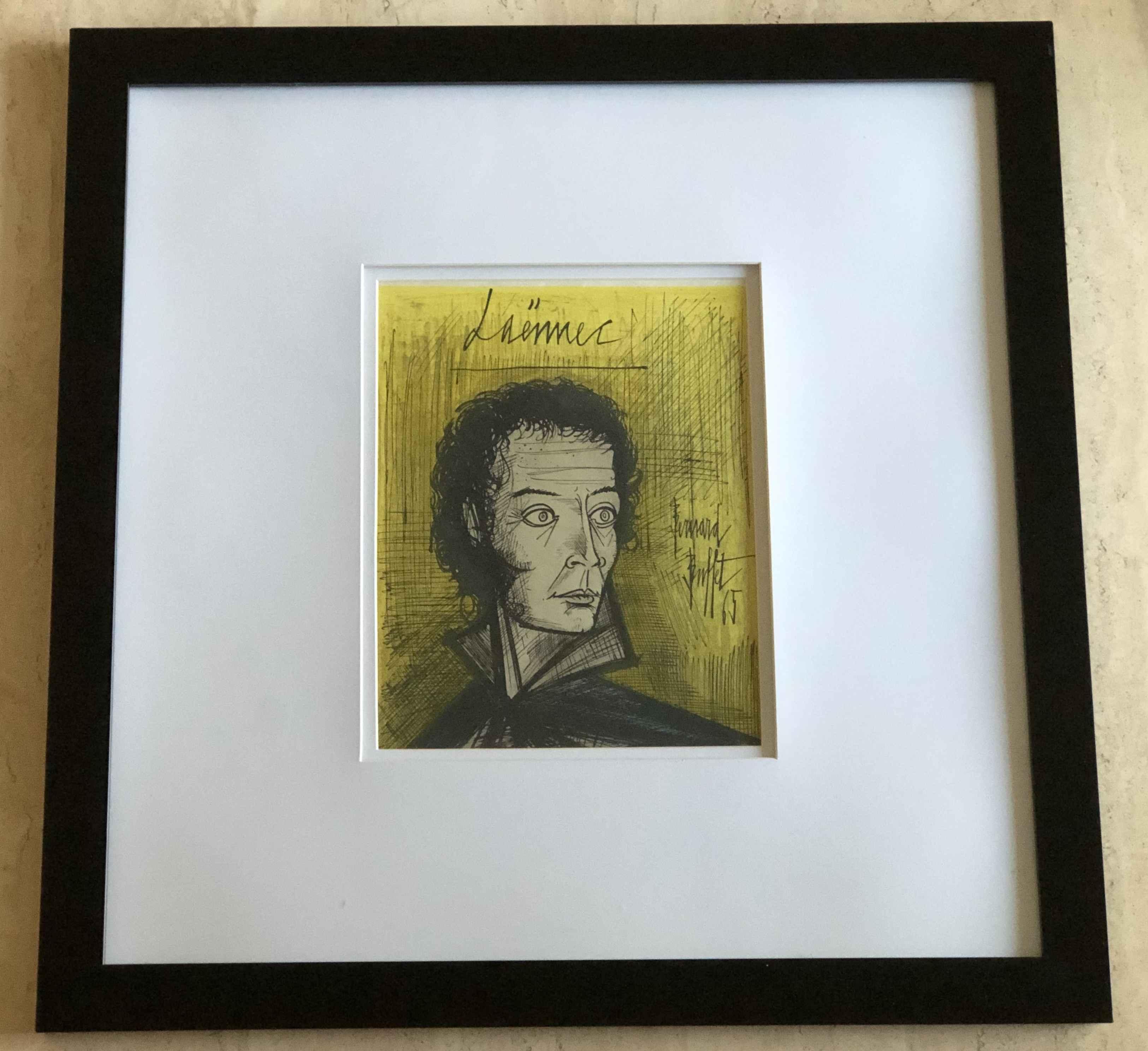 Laennec by  Bernard Buffet - Masterpiece Online