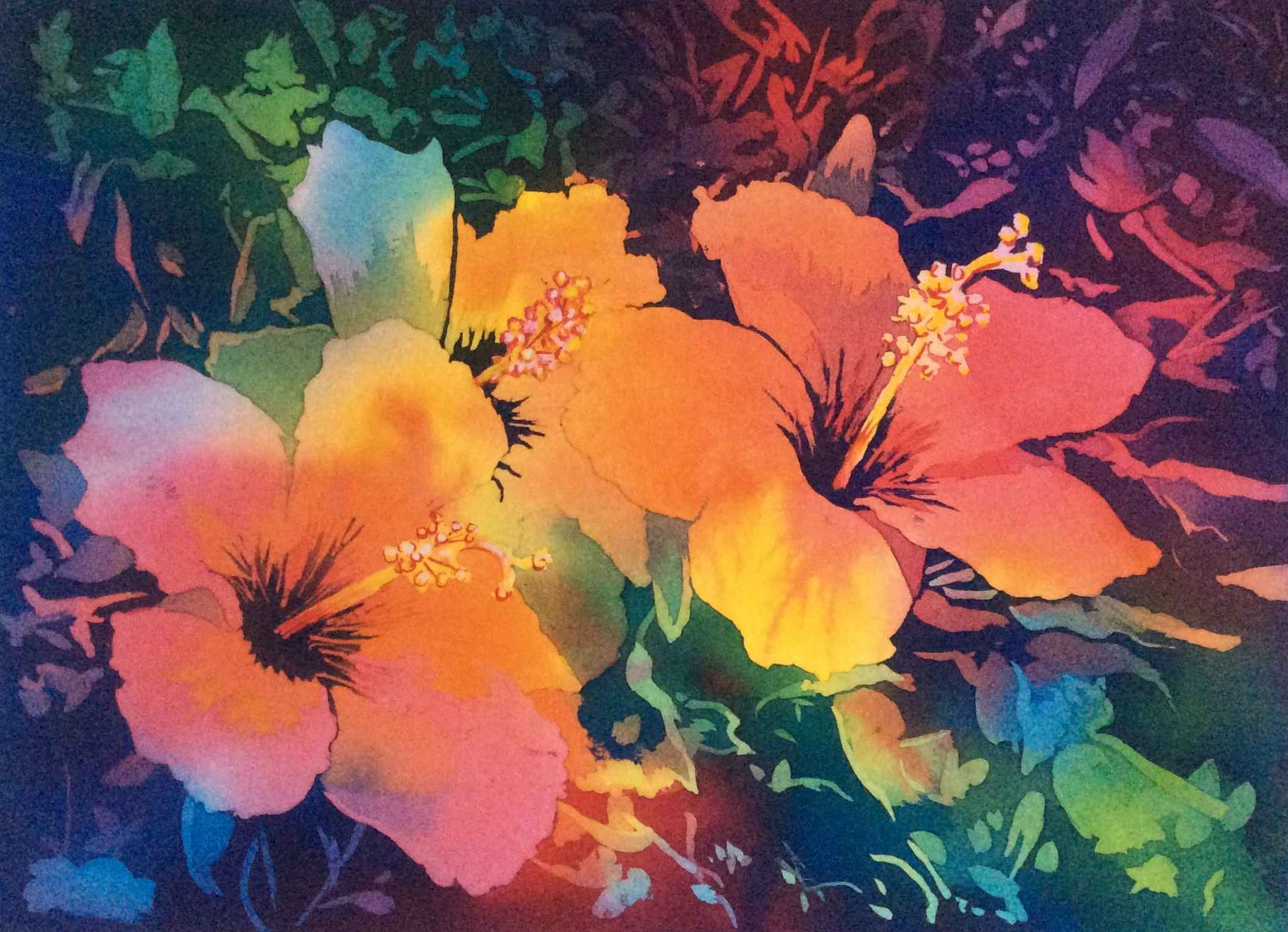 Hibiscus by  Mary Bubla - Masterpiece Online