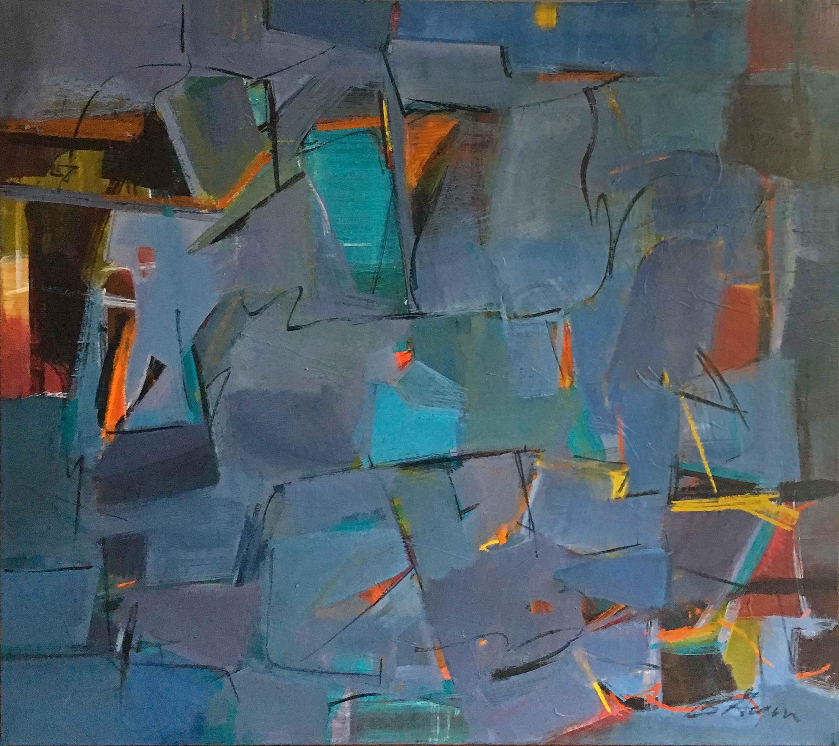 Avenue by  Bev Gegen - Masterpiece Online
