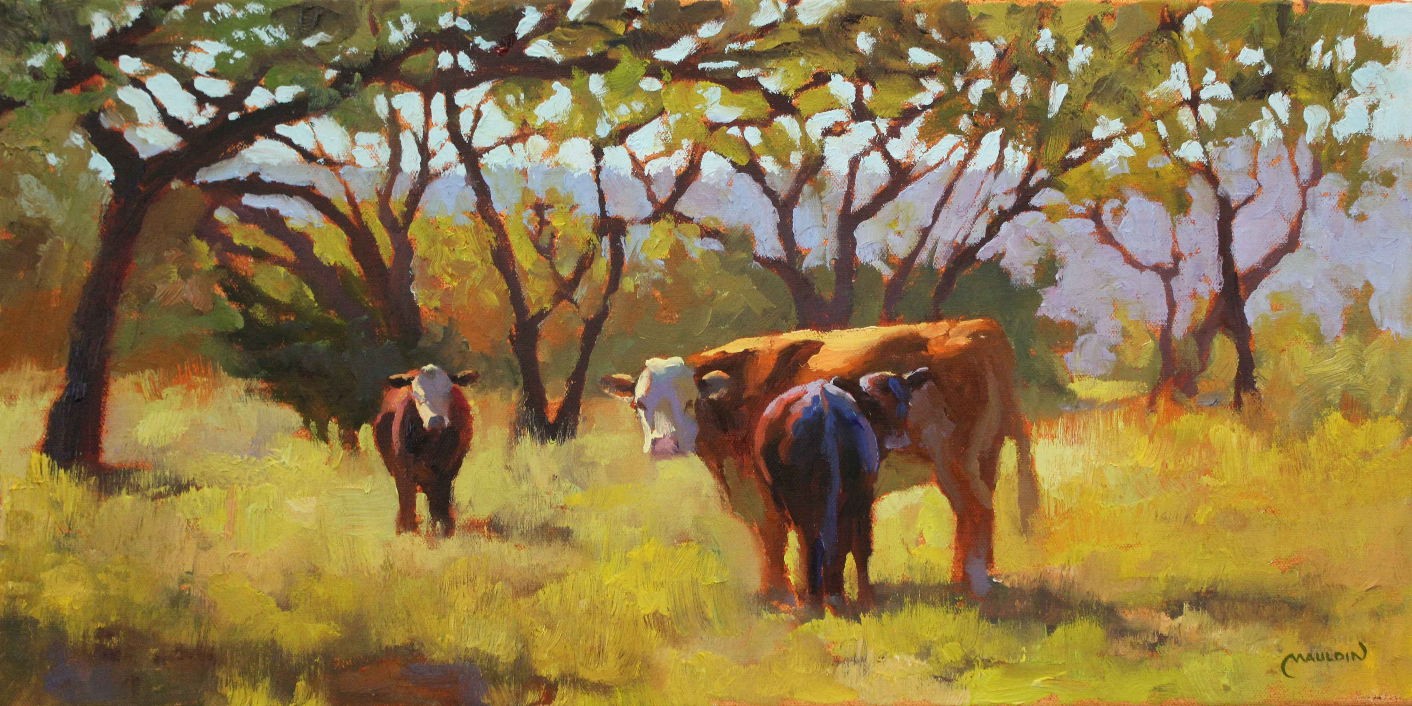 Out Standing in Their... by  Chuck Mauldin - Masterpiece Online