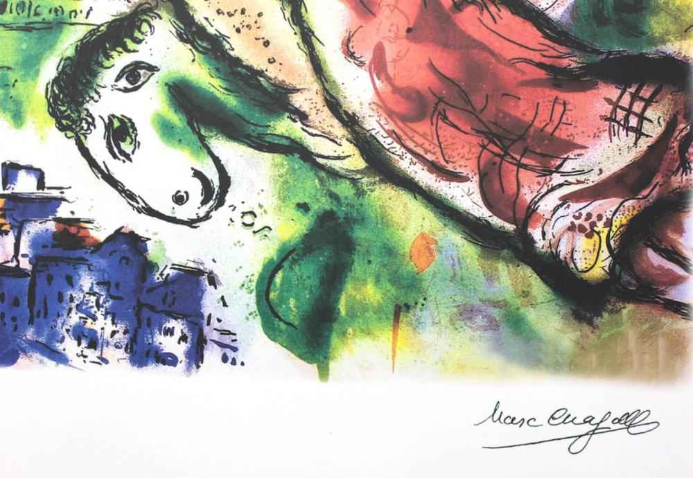 Romeo and Juliet by  Marc Chagall - Masterpiece Online