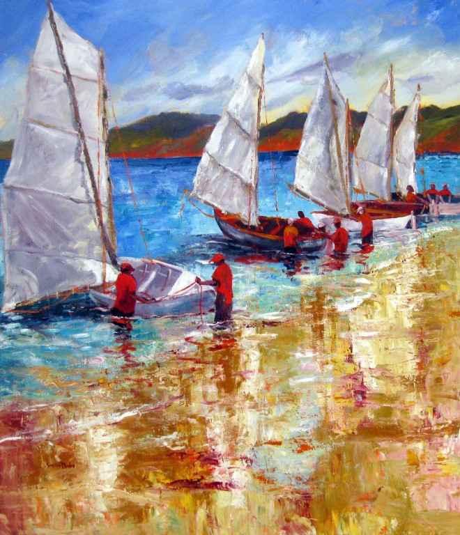 Summer Sailing by Mrs. Susan Mains - Masterpiece Online